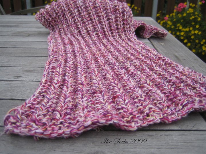 Schal rosa
