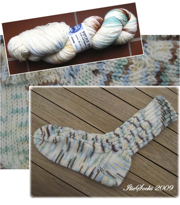 Socks that Rock, Calico, 100% Merino Superwash - Mediumweight