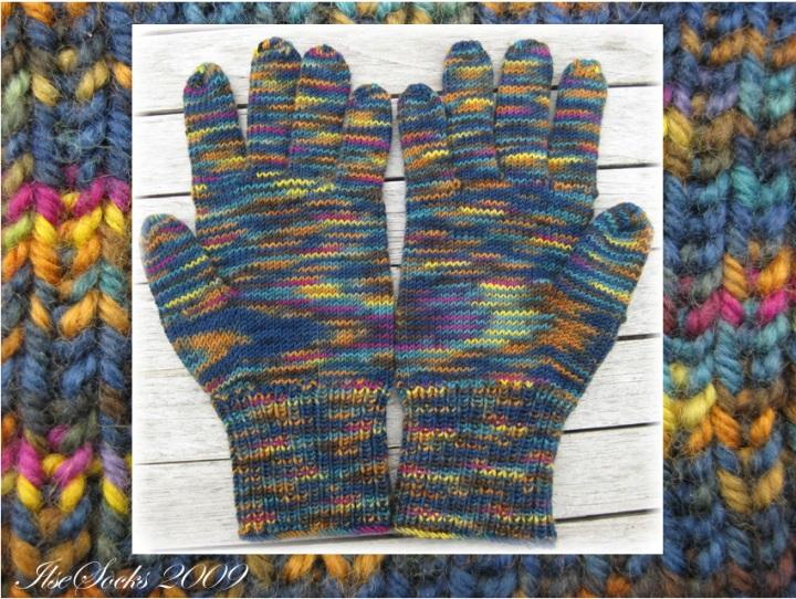 Handschuhe aus 100 % Merino von Hacho (mirasol)